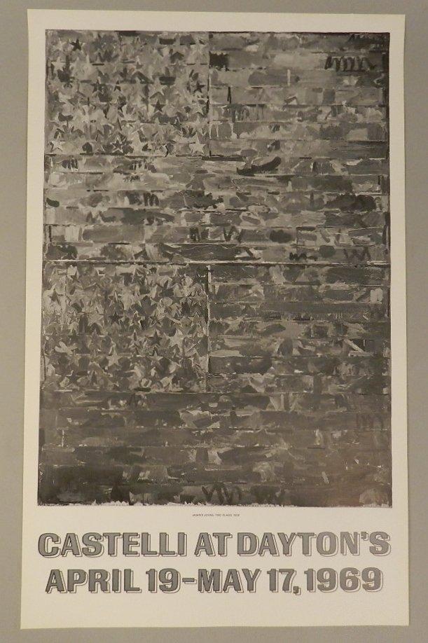 "Jasper Johns ""Two Flags"" Castelli At Daytons"