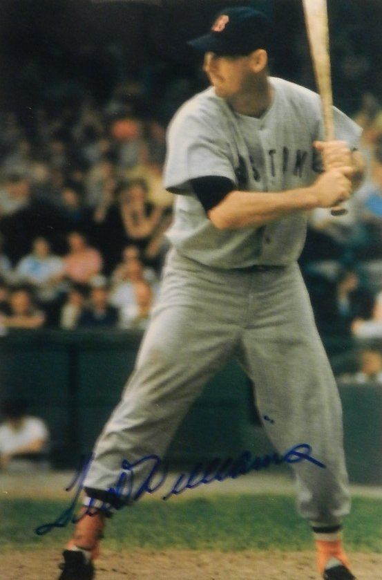 Ted Williams Autographed Photograph