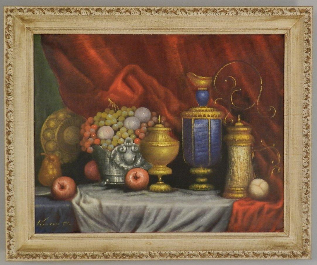 Peter Kloton (Hungarian B. 1927) Oil on Canvas