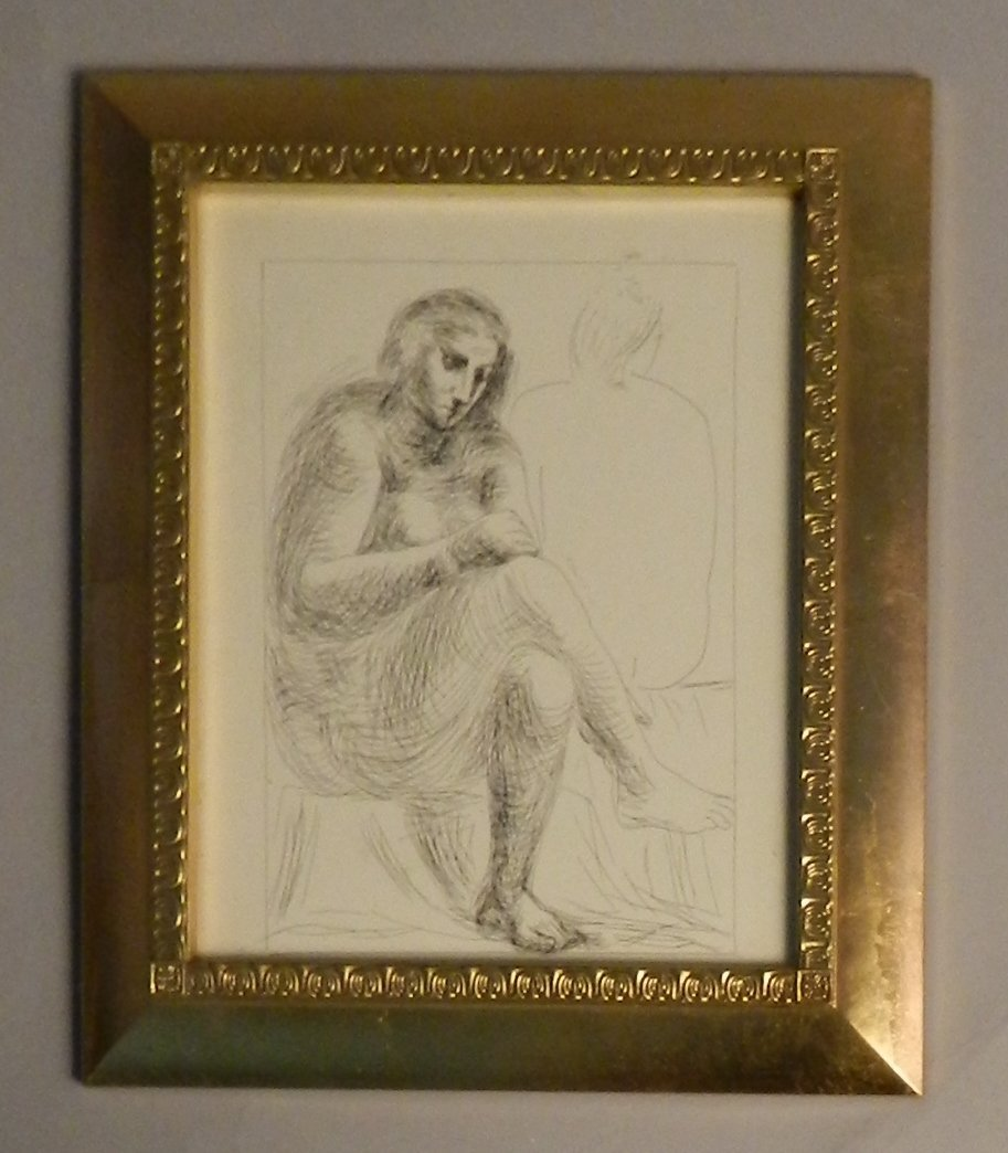 """Picasso """"The Bath"""" Etching"""