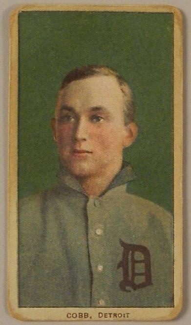 Baseball Card Ty Cobb Detroit Drum Cigarettes