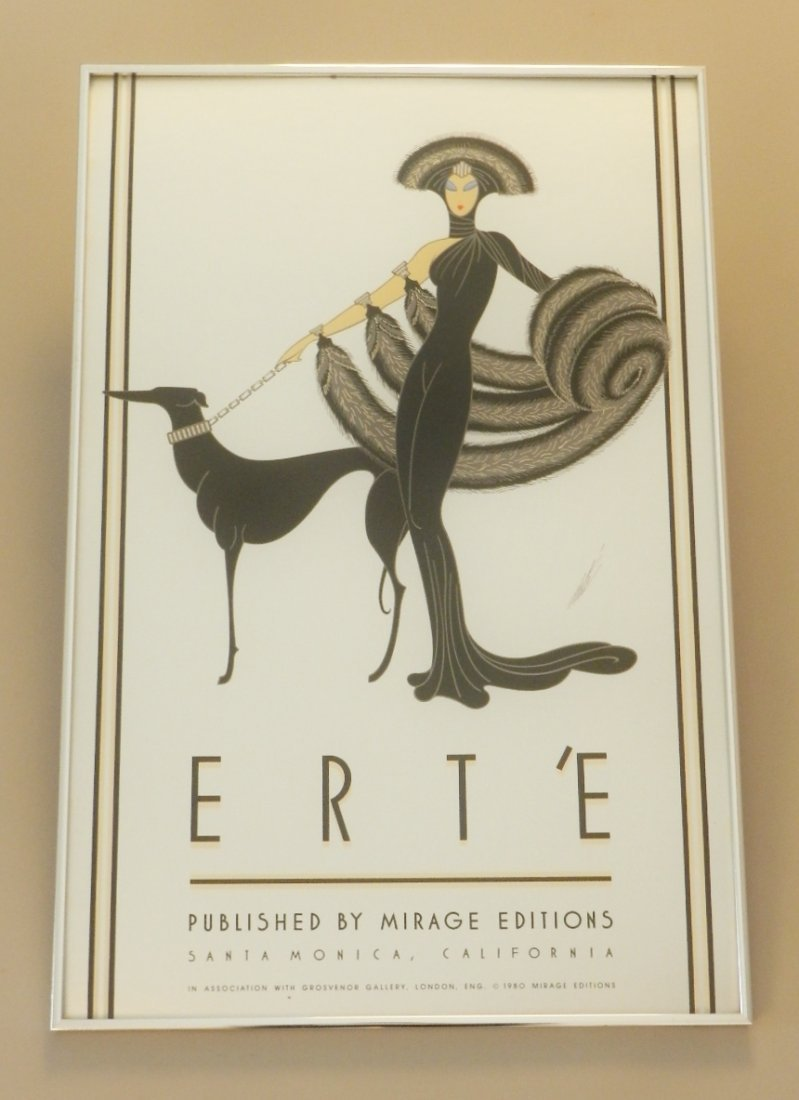 Erte Serigraph Published by Mirage Editions