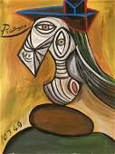 Pablo Picasso 18811973 Oil on Canvas