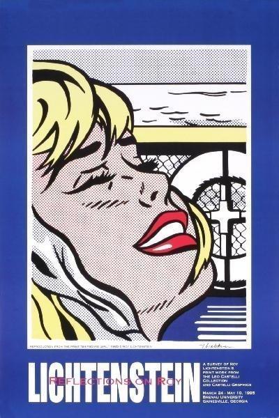 Roy Lichtenstein Shipboard Girl 1995