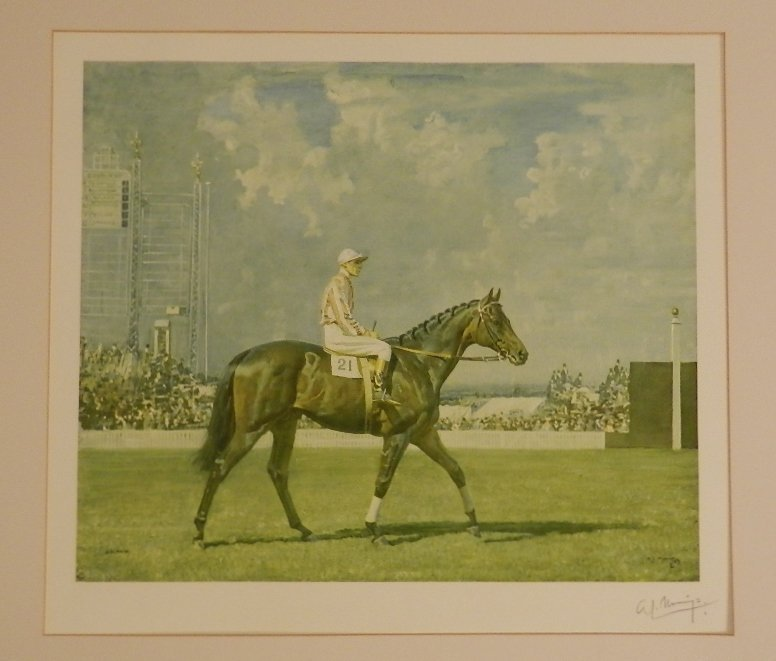 Alred Munnings (English, 1878-1959)