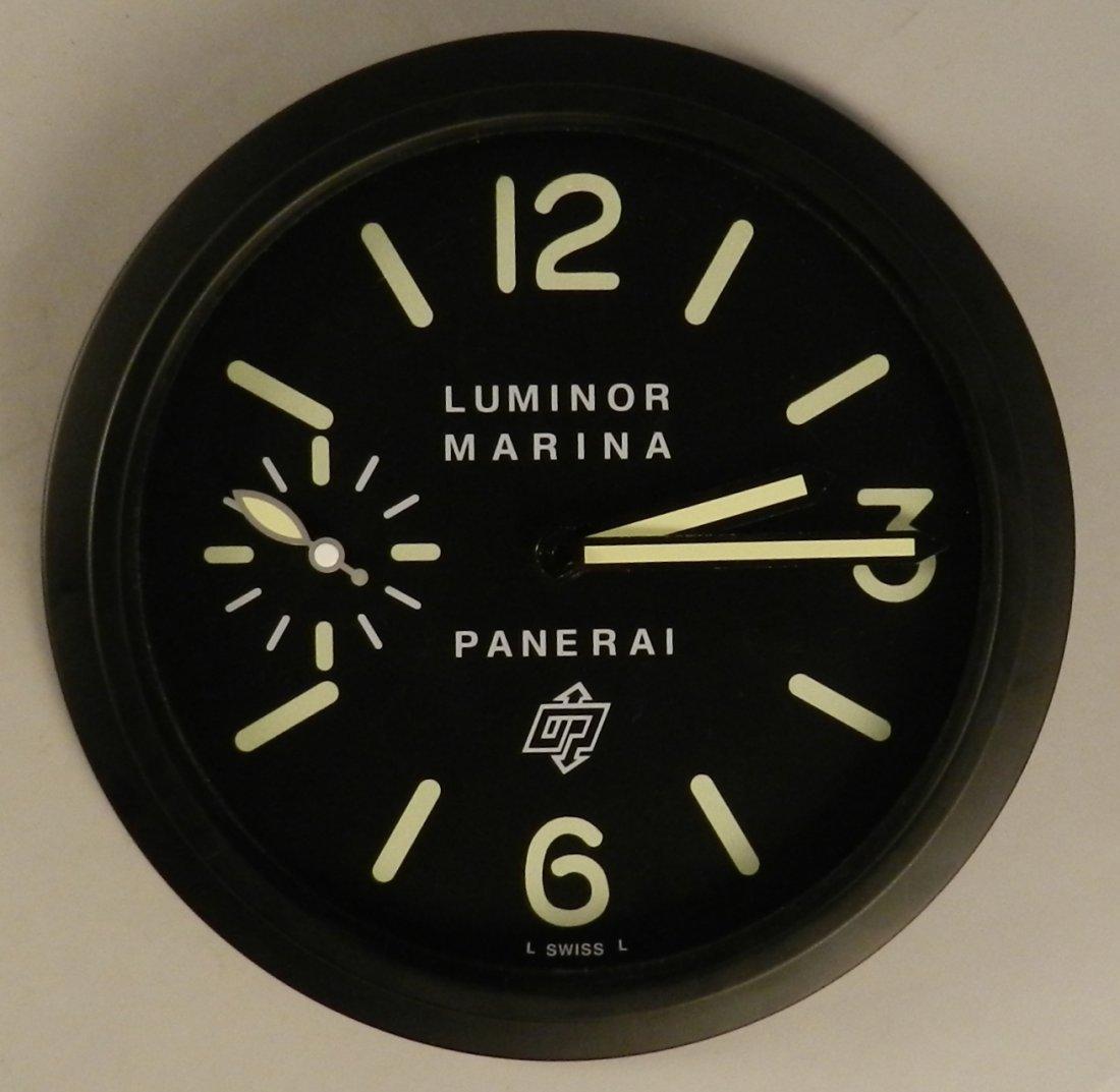 Panerai Luminor Marina Dealer Wall Clock