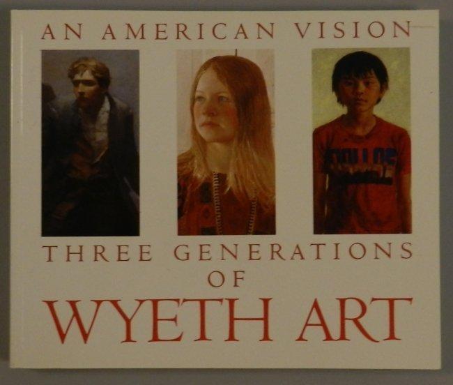 Three Generations of Wyeth Art Book
