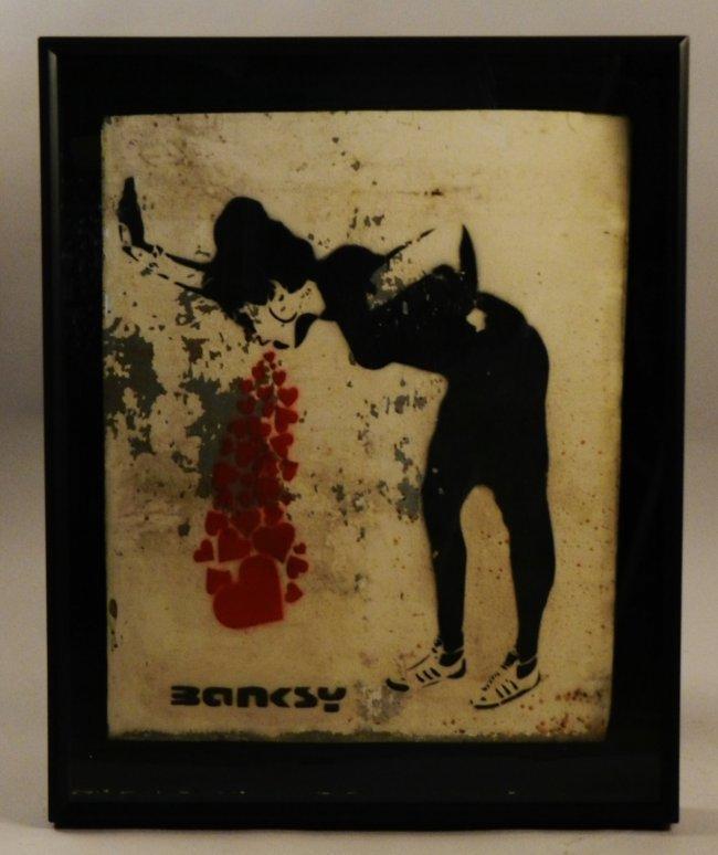 Banksy (British, B. 1974)