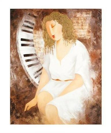 "Arbe ""Sonata For Her"" Giclee on canvas"