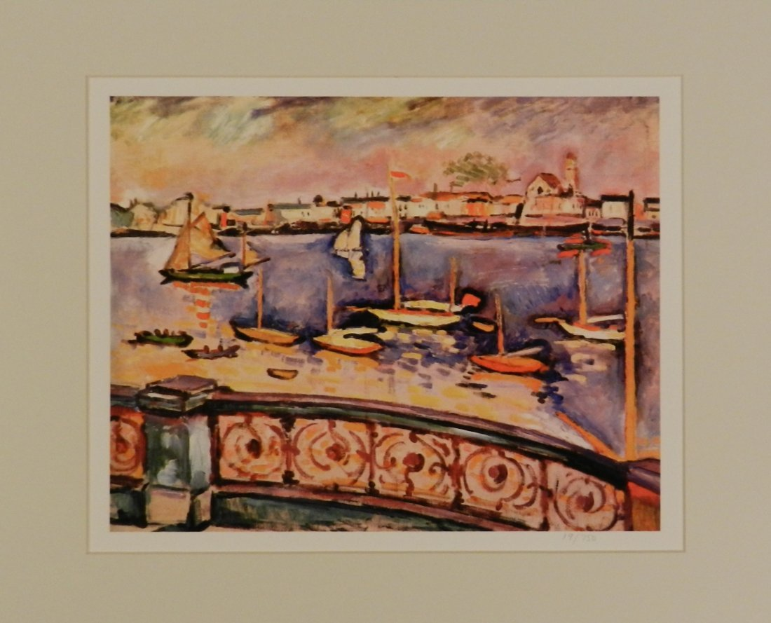 Original Georges Braque Colored Giclee