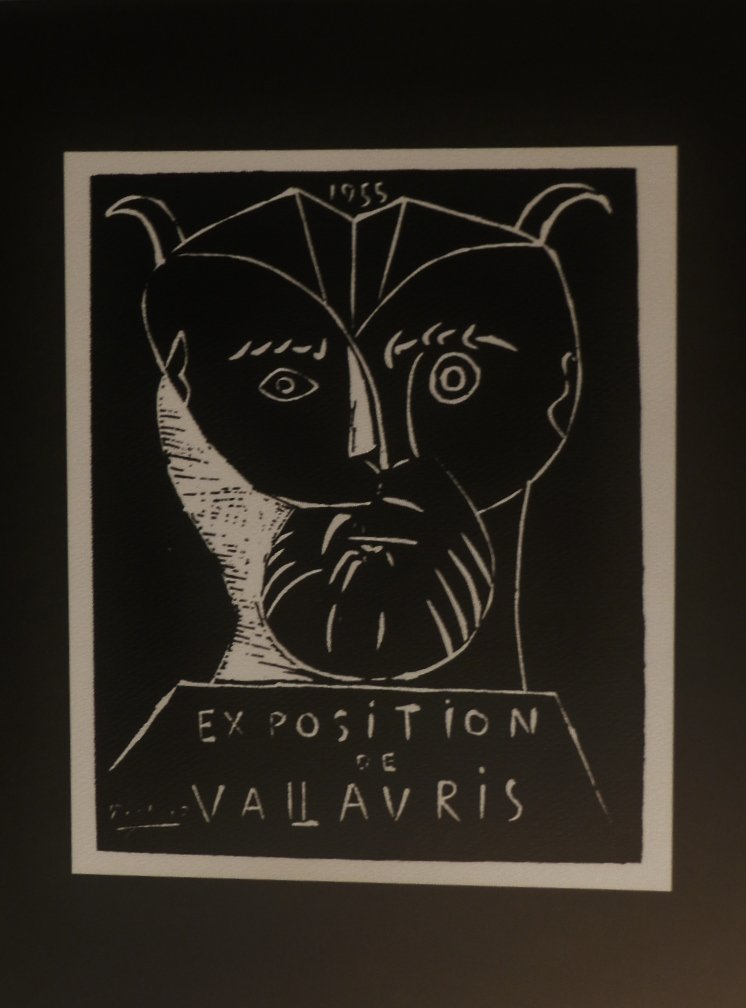 """Picasso 1955 """"Exposition de Vallavris""""."""