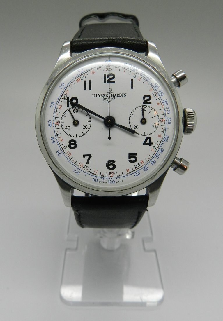 Vintage Ulysse Nardin Men's Watch Valjoux movement