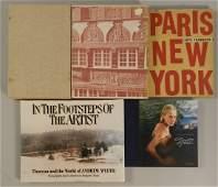 Lot of 5 Vintage Books including art books