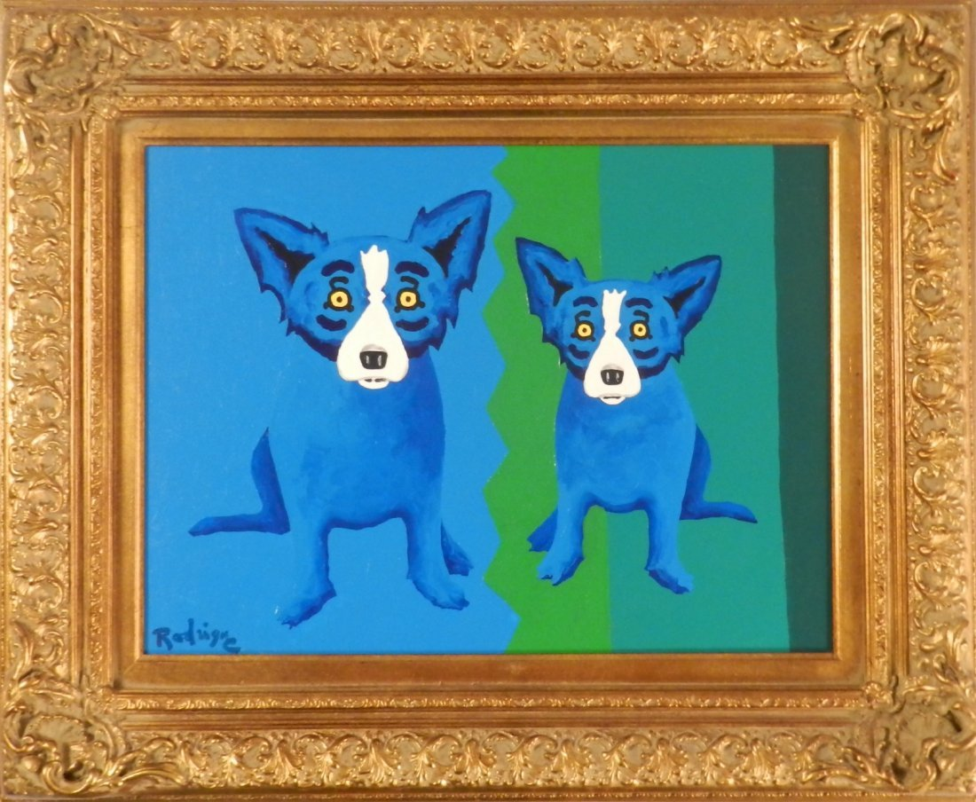 George Rodrigue (American/Louisiana, b. 1944)