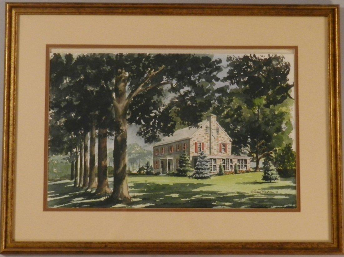 William Bourne Watercolor