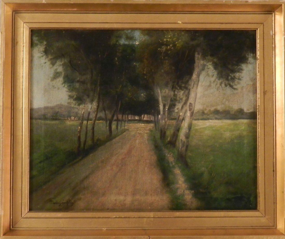 LASZLO MEDNYANSZKY, (HUNGARIAN 1852 - 1919)