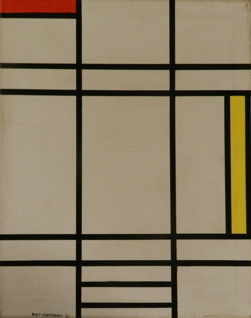 Piet Mondrian (1872-1944), Oil on Canvas, After