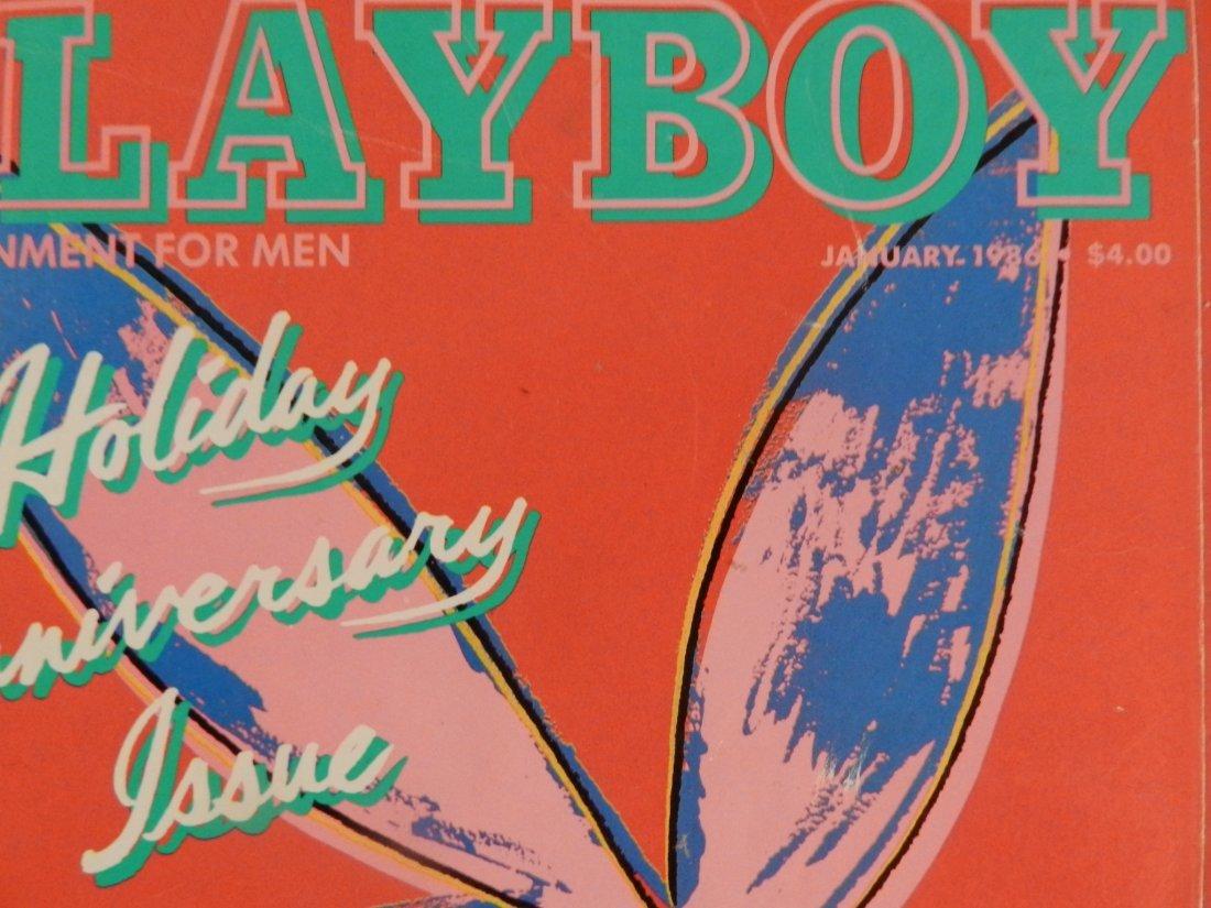1986 Andy Warhol Playboy Magazine - 2