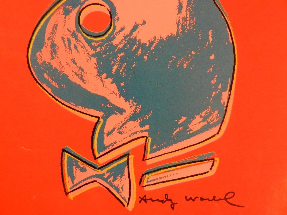 1986 Andy Warhol Playboy Magazine - 3
