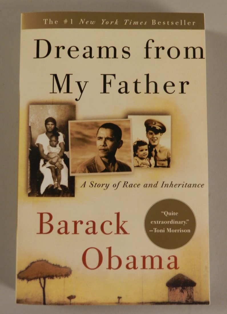 Barack Obama, DREAMS OF MY FATHER Signed Book