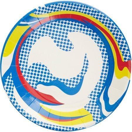 Roy Lichtenstein Paper Plate Modern