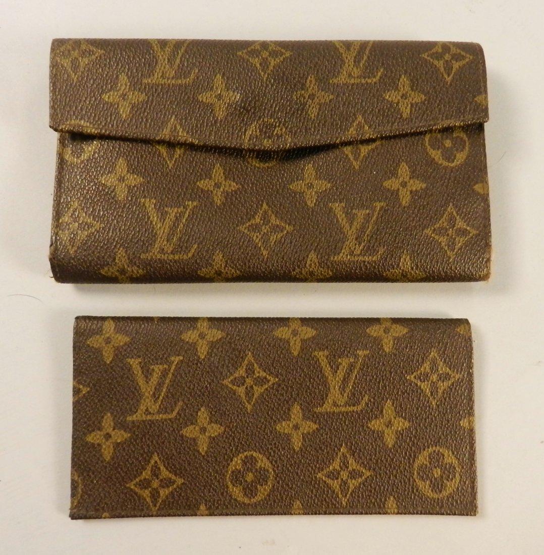 Vintage Louis Vuitton Wallet & Checkbook Cover