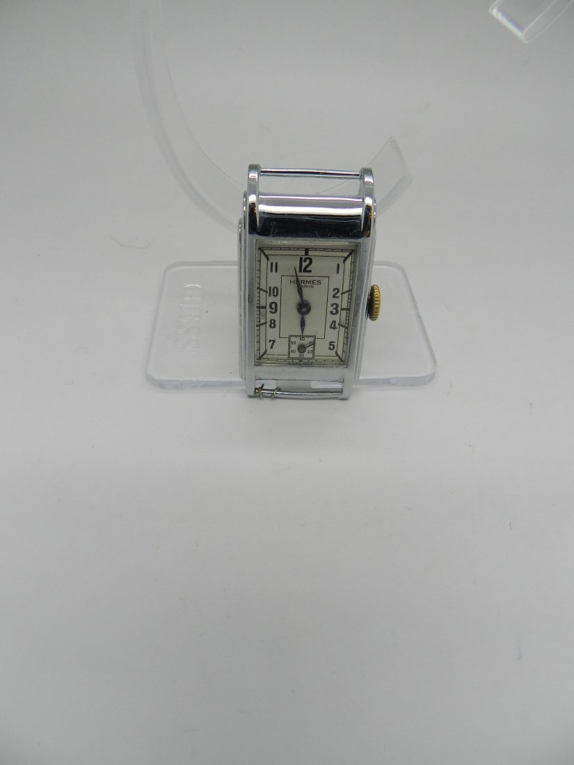 Vintage Hermes Art Deco Men's Watch