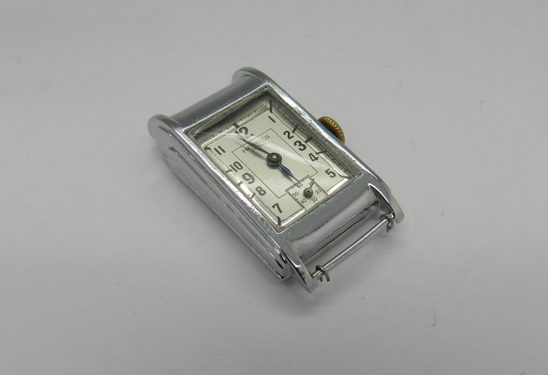 Vintage Hermes Art Deco Men's Watch - 2