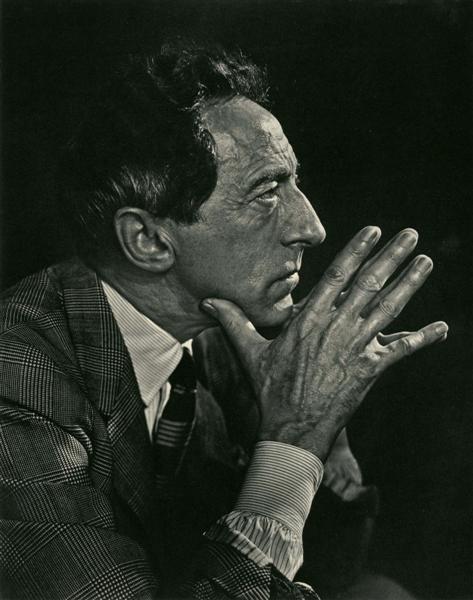Original Jean Cocteau Photogravure by Yousuf Karsh
