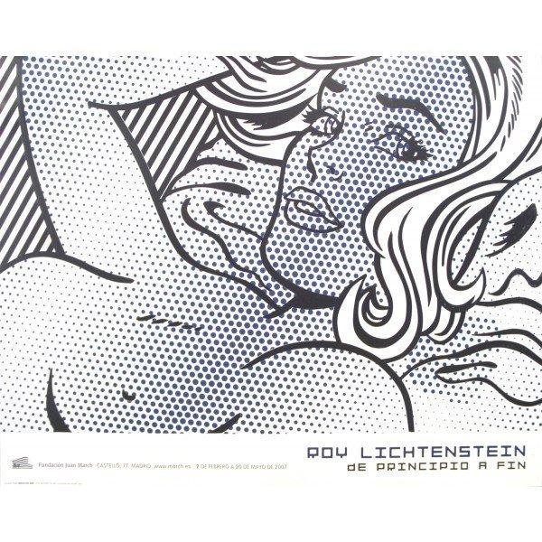 Roy Lichtenstein Offset Lithograph Poster