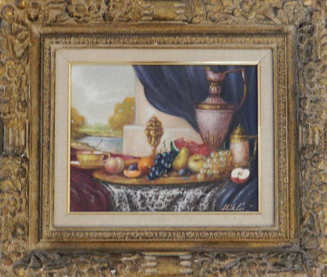 Early Still Life Oil on canvas