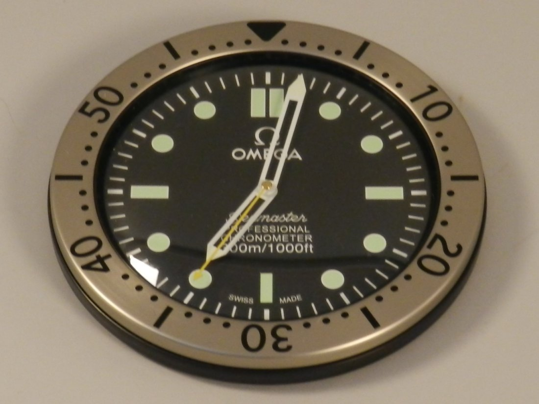 Omega Seamaster Dealer Wall Clock