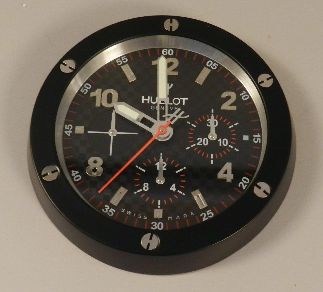 Hublot Watch Dealer Wall Clock