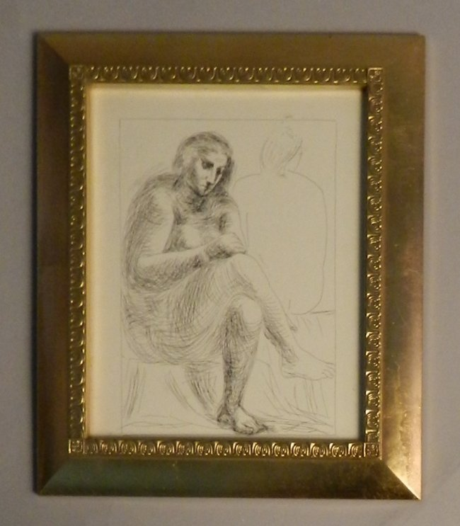 """Vintage Picasso """"The Bath"""" Etching"""
