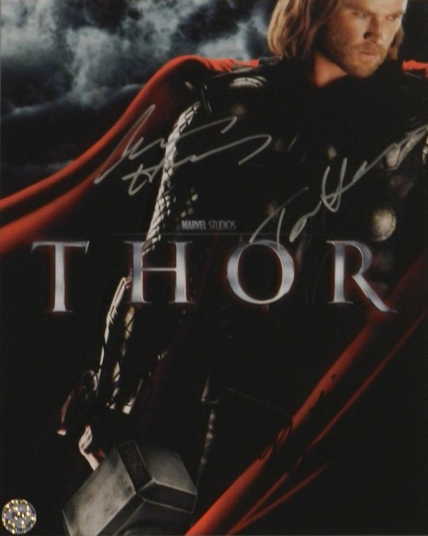 Thor Cast Signed Movie Photograph