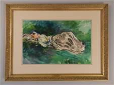 John Singer Sargent Original Watercolor