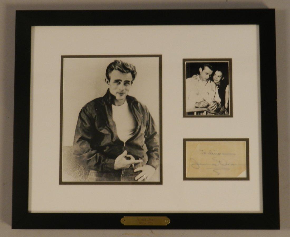 James Dean Original Hand Written Signed Note