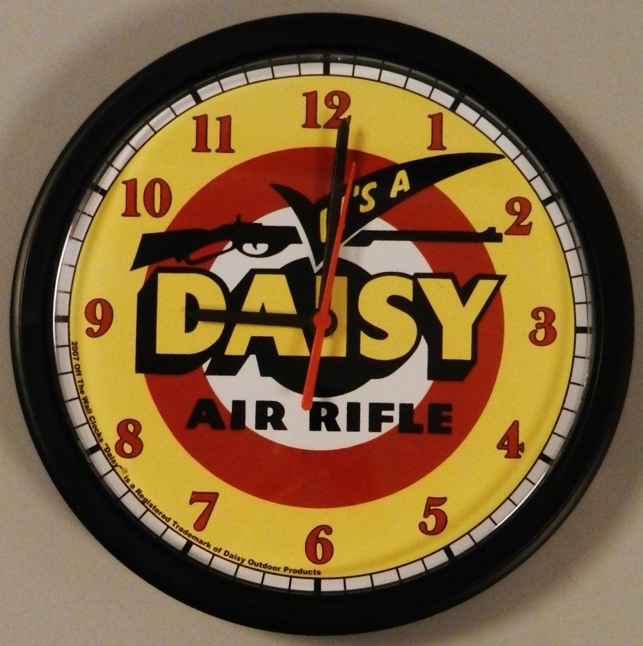 Daisy Air Rifle Vintage Style Dealer Wall Clock