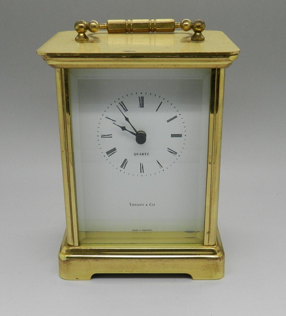 Tiffany & Co Carriage Clock