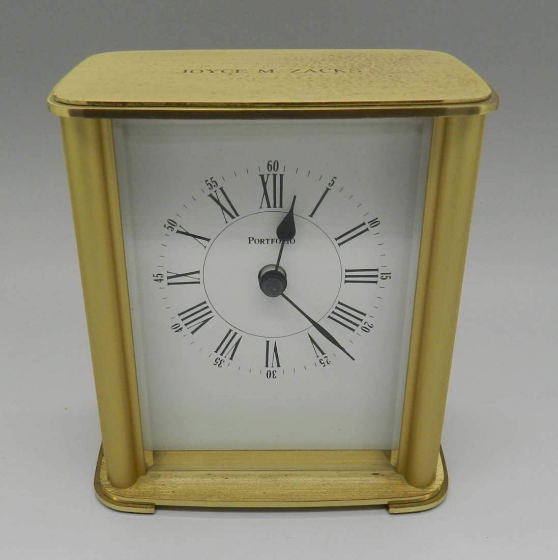 Tiffany & Co Portfolio Mantle Clock