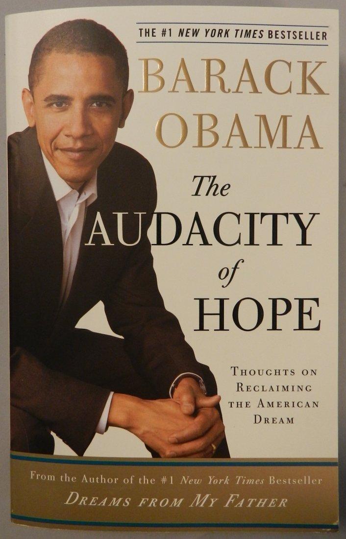 President BARACK OBAMA Hand Signed Book, 1st Ed