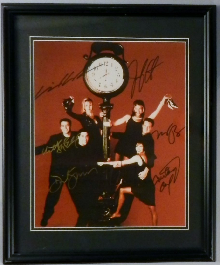 Friends Cast Photo Hand Signed