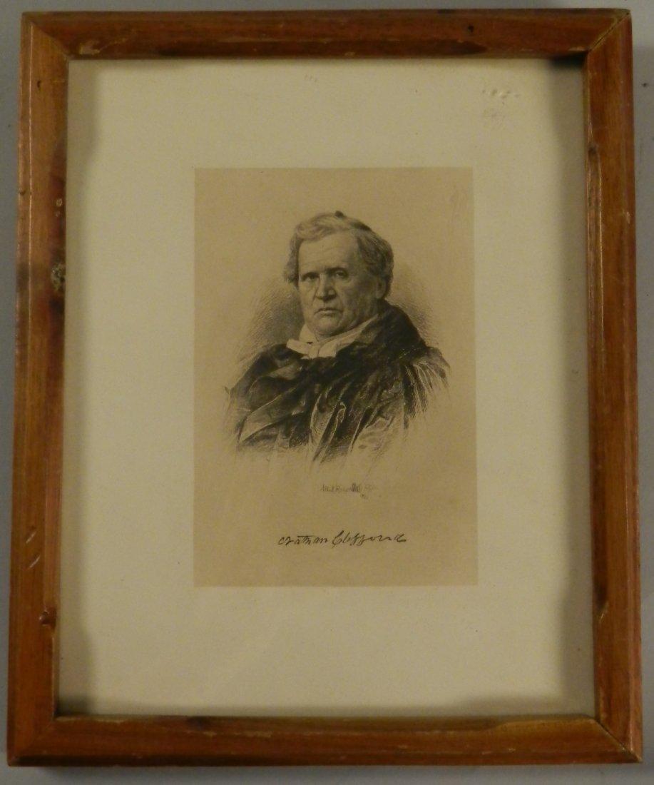 Vintage Albert Rosenthal 1890 Philadelphia Print
