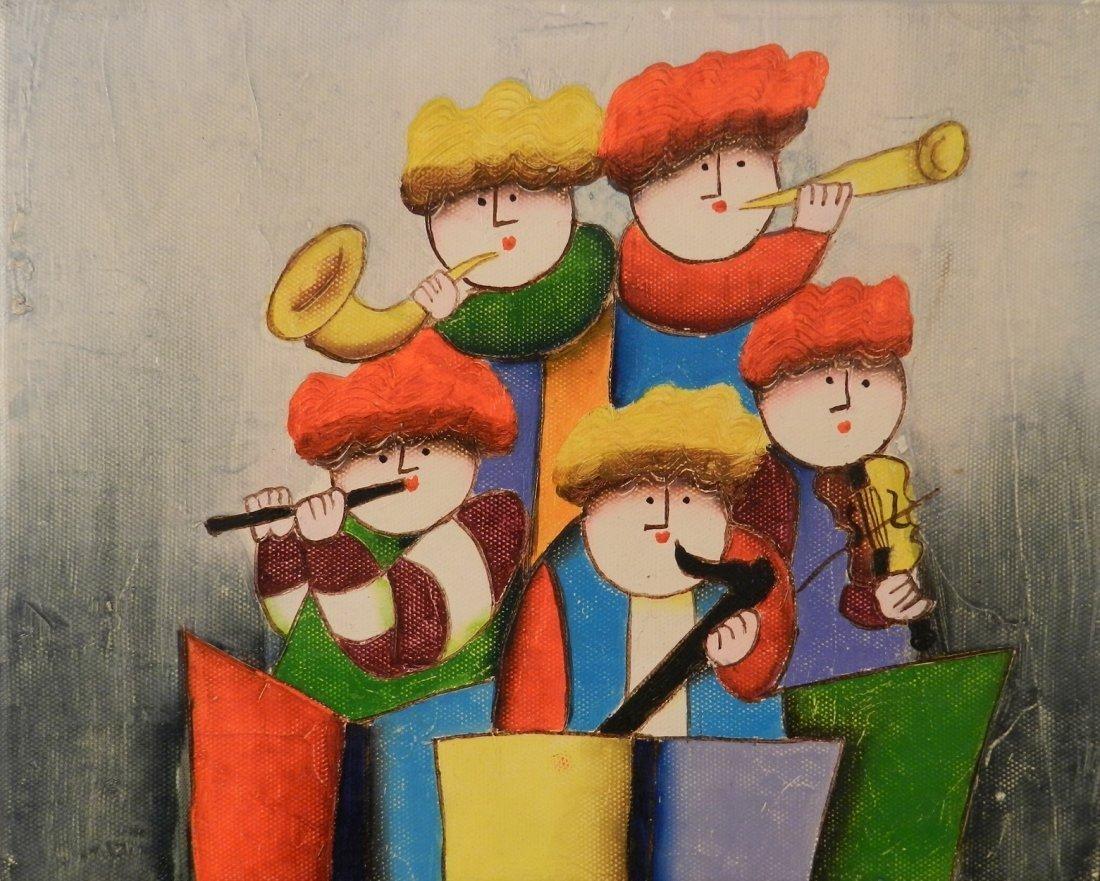 Original Oil on Canvas Boulanger