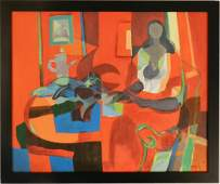 Marcel Mouly Original French Oil Painting