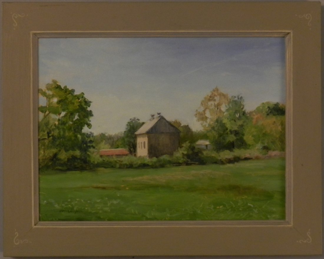 Vintage Pennsylvania Landscape Oil painting