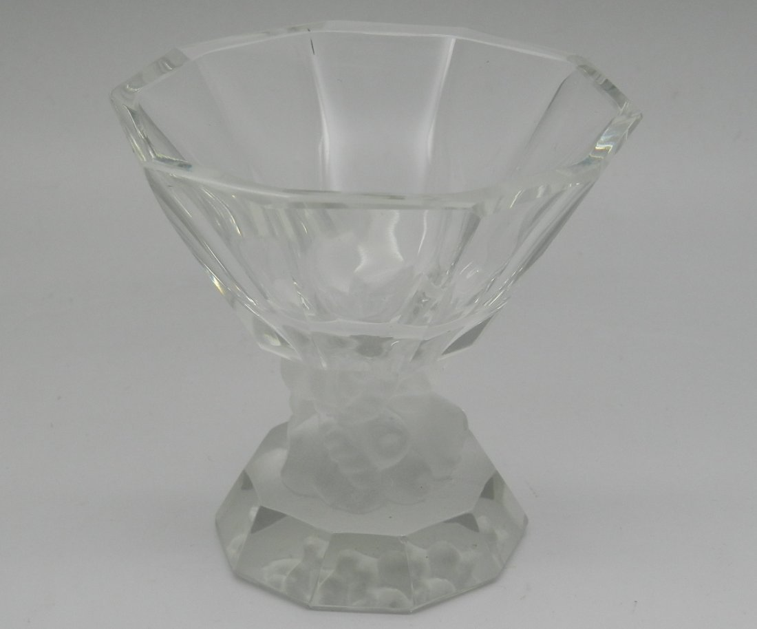 Lalique French Open Salt Dip Bowl