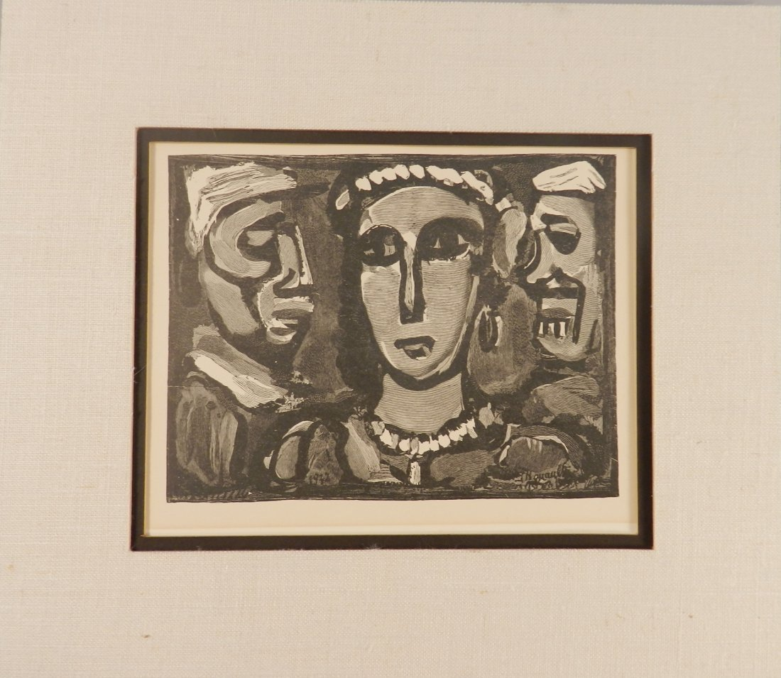 Georges Rouault Original Engraving