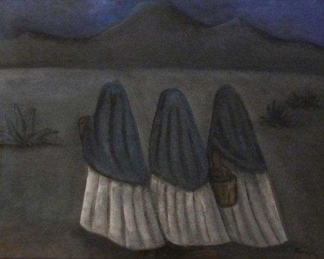 Rufino Tamayo (Mexican, 1889-1991) Painting