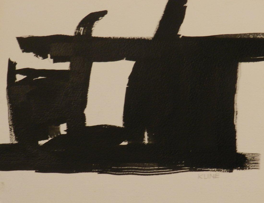 Franz Kline (American, 1910-1962) Original Ink Drawing